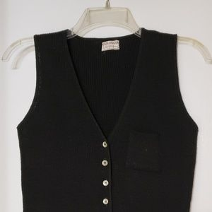 Vintage Saks Fifth Avenue Young Dimensions Vest